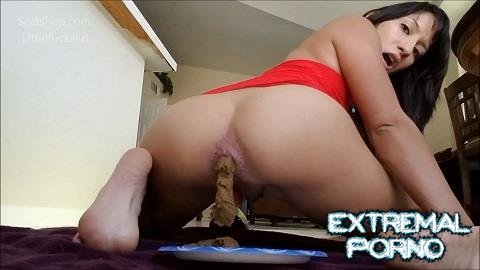 Littlefuckslut - Tiny dicked ass muncher (ScatShop)