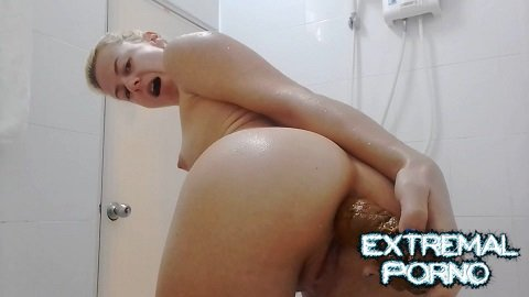 MissAnja - Sexy, Slow Big Shit Smearing On My Ass (ScatShop)